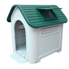 Kakei Plastic Dog Kennel Outdoor Dog House for Large Size Dog(419A)