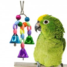 Bird Toy LN-136 with ring bells 12cm