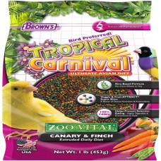 Brown's CANARY&FINCH FOOD 453GM bird item food