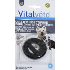 AGROBIOTHERS VITALVETO INSECT REPELLENT COLLAR FOR PUPPY AND SMALL DOG (For 3 months)