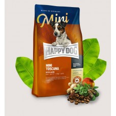 Happy Dog MINI TOSCANA ENTE&LACHES 4KG dog dry food