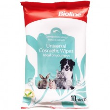 BIOLINE UNIVERSAL COSMETIC WIPES 10PCS