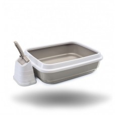 IMAC Litter Tray+ Scoop with stand- 59x40x28 CM (81480)