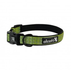 Alcott ADVENTURE COLLAR - SMALL - NEON GREEN