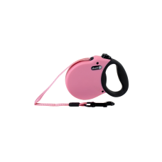 Alcott  ADVENTURE RETRACTABLE LEASH, 3 M - EXTRA-SMALL - PINK