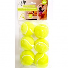 All For Paws MAXI FETCH SUPER BOUNCE TENNIS BALL - 6 PCS dog item toy