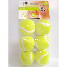All For Paws FETCH BALLS - 6 PACK dog item toy