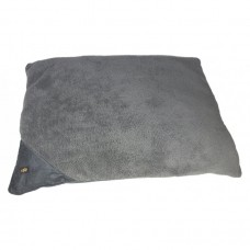 ALL FOR PAWS LAMBSWOOL PILLOW DOG BED - LARGE/GREY