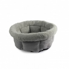 ALL FOR PAWS CUDDLE BED - MEDIUM/GREY