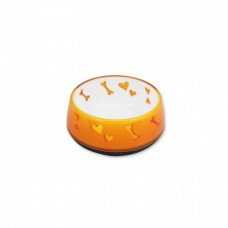 All For Paws DOG LOVE BOWL - ORANGE / S