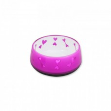 All For Paws DOG LOVE BOWL - PINK / S