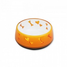 All For Paws DOG LOVE BOWL - ORANGE / M