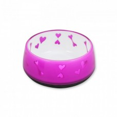 All For Paws DOG LOVE BOWL - PINK / M