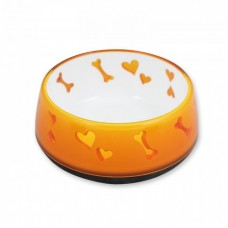 All For Paws DOG LOVE BOWL - ORANGE / L