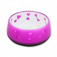 All For Paws DOG LOVE BOWL - PINK / L