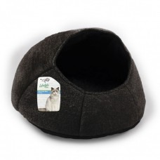 ALL FOR PAWS NEST CAT BED BLACK