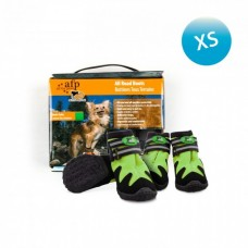All For Paws OUTDOOR DOG SHOES - GREEN / XS