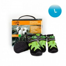 All For Paws OUTDOOR DOG SHOES - GREEN / L