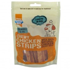Armitage CHEWY CHICKEN STRIPS - 100G dog treats