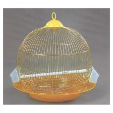 Dayang BIRD CAGE DNG (ROUND): SIZE: 46X46 GOLD bird item cage small