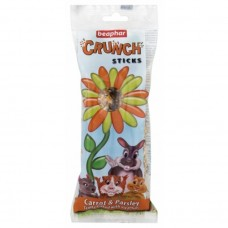 Beaphar CRUNCH STICK - CARROT & PARSLEY small animal item hamster item rabbit