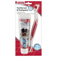 Beaphar TOOTHBRUSH & TOOTHPASTE - COMBIPACK dog item healthcare dental care