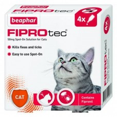 Beaphar FIPROTEC FOR CAT - 4 PIPETTES