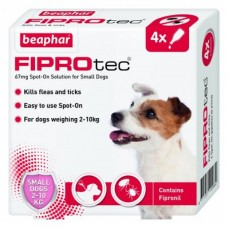 Beaphar FIPROTEC FOR SMALL DOG - 4 PIPETTES
