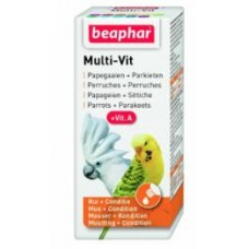Beaphar MULTI-VIT PARROTS 20ML bird item health care