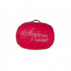 Bobby AMERICAN CUSHION - RED / XTRA LARGE