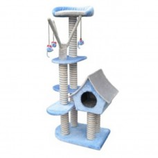Fauna SAGRADA CAT SCRATCHING POLE - BLUE cat item