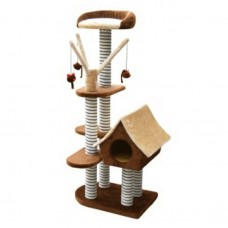 Fauna SAGRADA CAT SCRATCHING POLE - BROWN cat item
