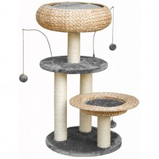 Fauna LORENZ CAT PLAY TOWER - GREY cat item