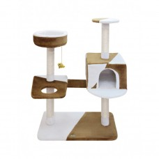 Fauna CAMILA CAT POLE - BROWN-WHITE cat item