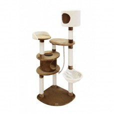 Fauna TIAGO CAT POLE - BEIGE-BROWN cat item cat tree