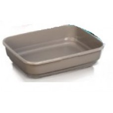 Petmode PLASTIC CAT LITTER TRAY LARGE (46.5X38X13 CM) cat item cat open toilet