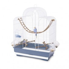 Imac Cage for Canaries, Parakeets and Exotic birds 50x30x65 CM bird item cage small
