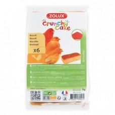 ZOLUX CRUNCHY CAKE ACTICOLOR BISCUITS - 6PC