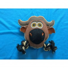 Nutra Pet Cow Head Dog Toy dog item toy