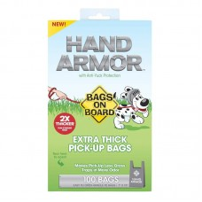BAGS ON BOARD BOB Hand Armor with Extra Thick Pick Up Bags (100bags)