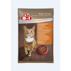 8 in 1 Adult Cat With Tempting Chicken 100g cat treats