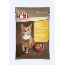 8 in 1 Adult Cat With Delicious Turkey 100g cat treats