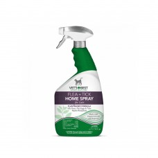 Vet's + Best Natural Flea And Tick Home Spray For CATS, 32 Oz