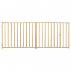 MidWest 24″ Wood Extra-Wide Pet Gate