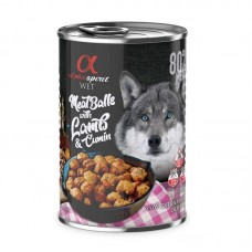 Alpha Spirit Wet Food Meat Balls with Lamb and Cumin 400grms