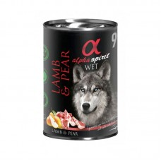 Alpha Spirit Wet Food Lamb with Pear 400grms