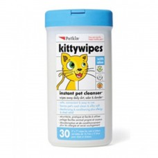 Petkin Kitty Wipes 30ct dog item grooming wet wipes
