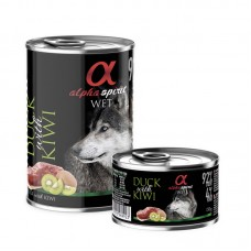 Alpha Spirit Wet Food Duck with Kiwi 400grms