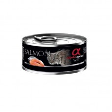 Alpha Spirit Wet Food SALMON for Cats 85g