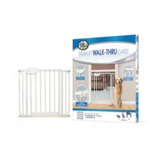 Four Paws Essential Walk Through Gate 30-34 AndW X 30 And H dog item house&cage